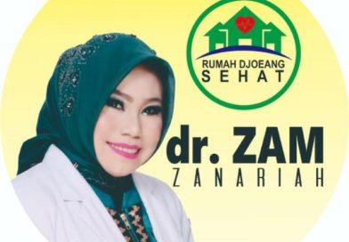 dr.Zam Zanariah Lantangkan Stop Narkoba